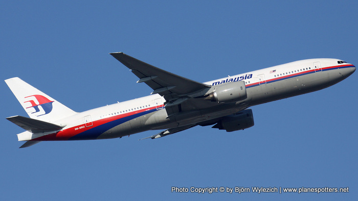 Boeing 777 Malaysia Airlines 9M-MRO. Photo Copyright © by Björn Wylezich | www.planespotters.net